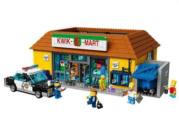 Lego 71016 Kwik-E-Mart Exklusiv Set (Nur für LEGO VIPs)