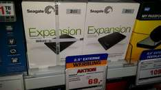 [Lokal]Seagate Expansion Portable USB 3.0 2TB (STBX2000401) ( PS4 geeignet) Saturn Offenbach Ringcenter