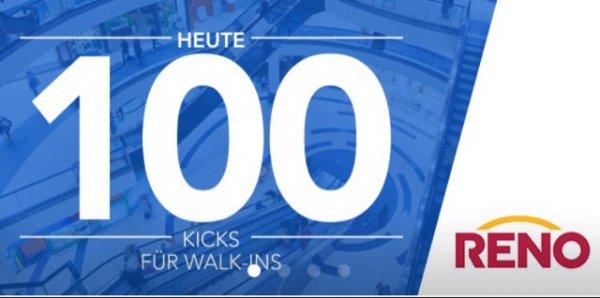 Mit Shopkicks-App heute 100 Punkte für Walk-Ins sammeln