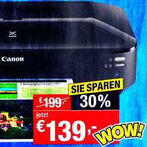 Canon Drucker PIXMA iX6850 kompakter, schneller DIN A3 Drucker, Bestpreis ab Montag [Staples]