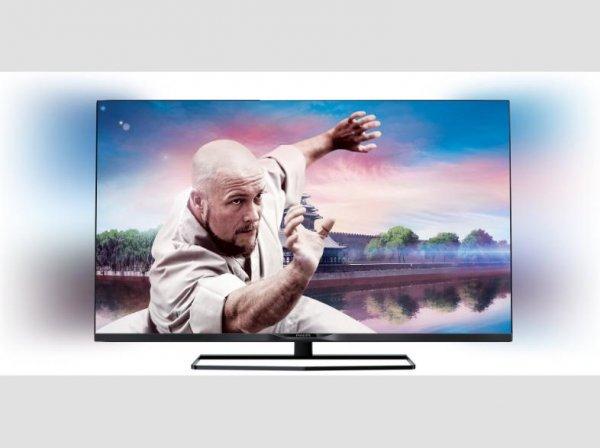 """[MediaMarkt.de] PHILIPS 42PFK5209 42"""" Full-HD TV mit 2-seitigem Ambilight und Triple-Tuner für nur 299€"""