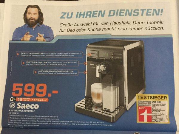 [LOKAL] Saturn Bremen Papenstraße - Saeco Kaffeevollautomat HD 8869/11