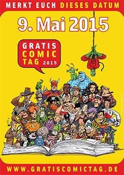 6. Gratis Comic Tag am 09.05.2015