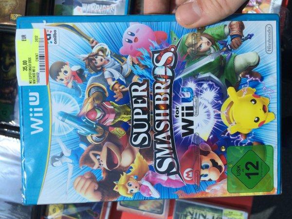[LOKAL][Media Markt Berlin Waltersdorf] Super Smash Bros für die Wii U