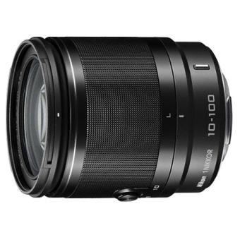 NIkon 1 Nikkor 10-100mm f4.0-5.6 VR Objektiv in schwarz oder weiß für 308,20 € @Fnac