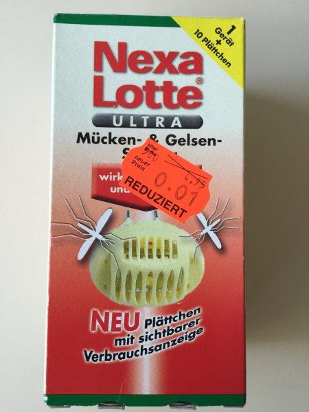 [KAUFLAND] [DÜSSELDORF] Nexa Lotte Ultra Mücken- & Gelsen-Stecker + 10 Plättchen für 0,01€