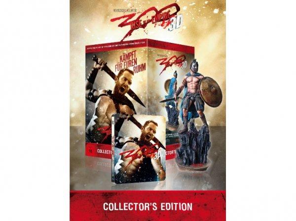 [Mediamarkt] 300: Rise of an Empire (Collector´s Edition 3D Blu-Ray inklusive 30cm Figur) für 53,- EUR