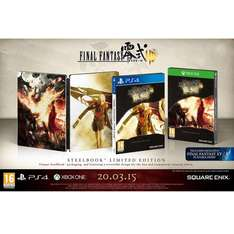 (UK) Final Fantasy Type-0 HD - Limited Edition Steelbook [PS4/XBOXOne] für 41.69 @ Zavvi