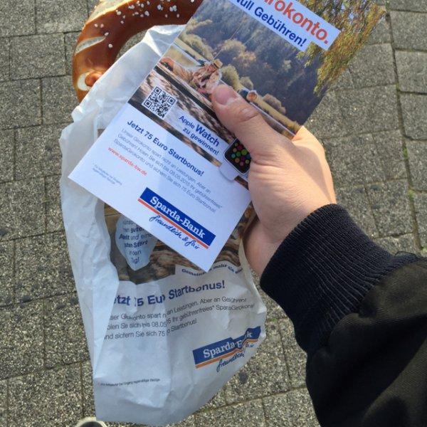 Gratis Brezel [Karlsruhe HBF]