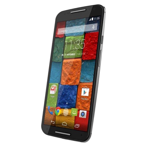 Motorola Moto X (2. Generation) 16GB black/black und white/bamboo