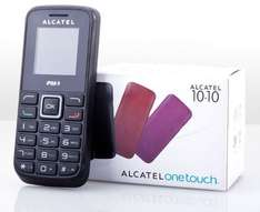 Notfallhandy - Alcatel One Touch 1010X Handy in Schwarz @groupon