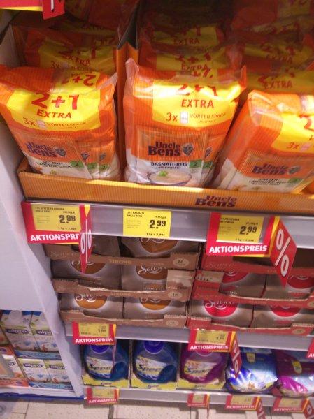 Uncle Bens Express Reis im Multipack für 2.99 Lokal Rewe Heiligenhaus