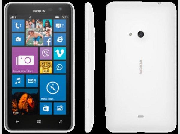 [Mediamarkt] Abverkaufsaktion Teil 3....NOKIA Lumia 625 weiß für 79,-€ Versandkostenfrei