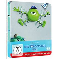 Die Monster Uni (Steelbook Edition) [Blu-ray 3D]