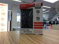Toshiba Canvio Basic 500GB