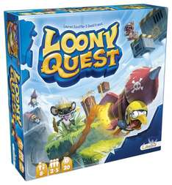 [Rakuten Supersale] Teilweise sehr gute Brettspiele Angebote über Bücher.de, z.B. Loony Quest €21,95 + 525 Superpunkte (~€5,25) versantkostenfrei - mehr Beispiele im Deal