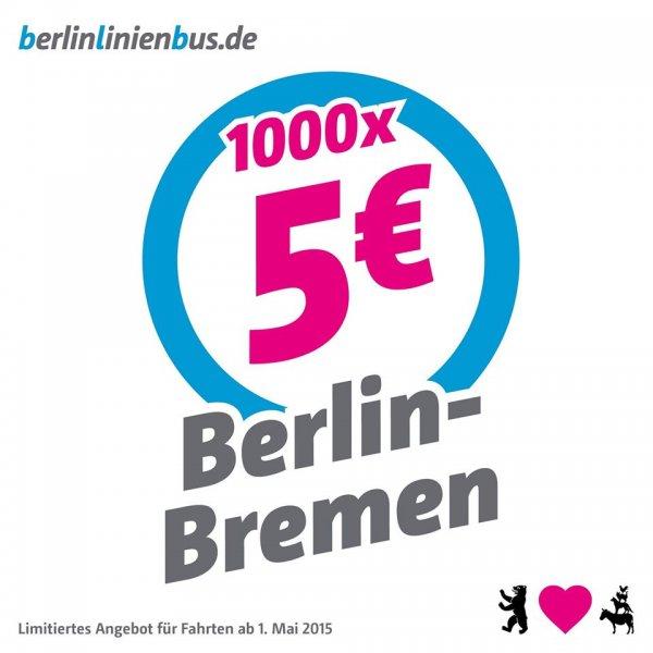 Berlin  Bremen bei Berlin Linien Bus für 5€