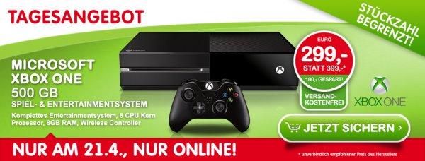 Xbox One Konsole 500GB um 299€ bei Interspar.at