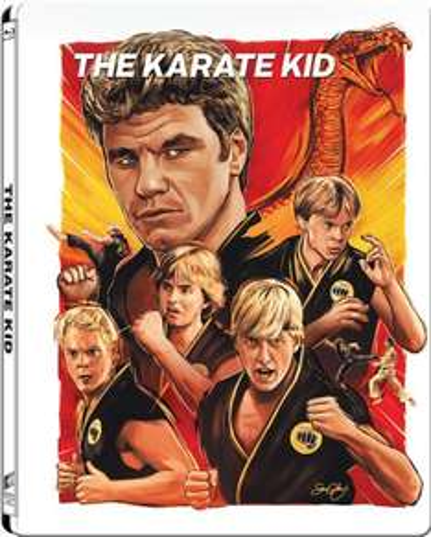 Karate Kid - Gallery 1988 Range Limited Edition Steelbook (Blu-ray) für 18€ @Zavvi.de