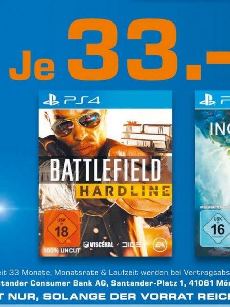 (Lokal Saturn Essen,Mülheim,Oberhausen) Battlefield Hardline PS4 für 33€