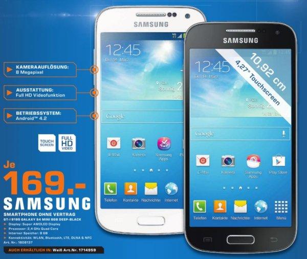 [lokal] Saturn Raum Frankfurt: Samsung Galaxy S4 mini für 169€