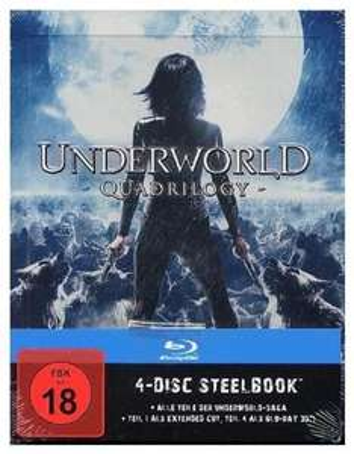 (Amazon.de & MediaMarkt.de) Underworld 1-4 Steelbook Edition (Blu-Ray) für 29,99€ bzw. 34,97€