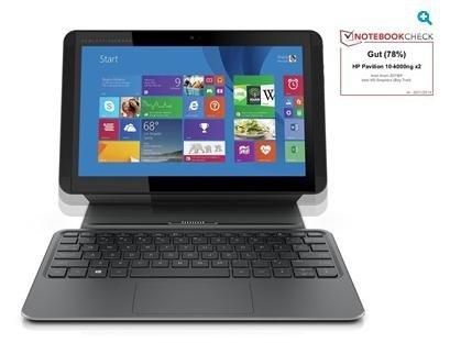 """HP Pavilion 10-k000ng x2 - 10,1"""" HD, Intel Z3736F 4x 2,16 GHz, 2GB Ram, 32GB eMMC, HDMI für 223€ @HP EDU Store"""