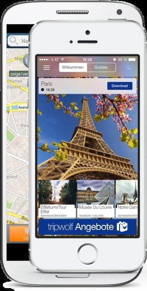 500 Reiseführer weltweit von tripwolf als Android oder iOS Version für einmalig 9,99€