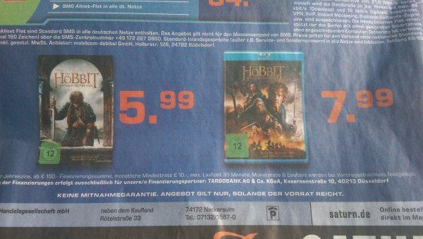 [Lokal-Neckarsulm] Hobbit - Schlacht der fünf Heere DVD 5,99€, BluRay 7,99€