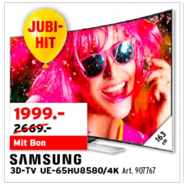 (Schweiz) Samsung UE-65HU8580 Interdiscount