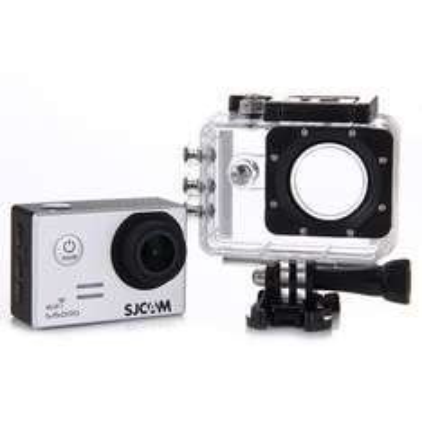 [geekbuying.com] SJCAM SJ5000 WiFi Sports Camera Novatek 96655 14MP 1080P silber/schwarz/gold + Zubehör (Versand aus EU)