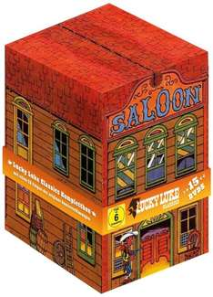 [amazon] Lucky Luke - Classics Komplettbox (15 DVDs) für 29,14 EUR inkl. Versand
