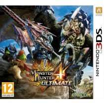 Monster Hunter 4 Ultimate 3DS für 30,65€ @thegamecollection