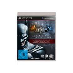 [Amazon Prime] Batman: Arkham Collection (Teil 1-3) PS3/Xbox 360 für je 16,97 EUR