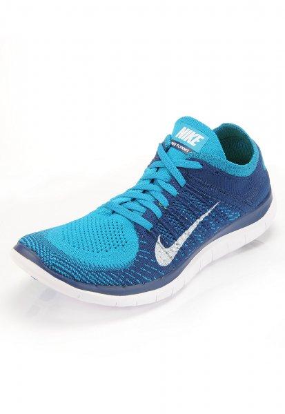 Nike Free Flyknit 4.0 blau für 75 Euro bei Sportarena (mit Abholung im der Filiale und Newsletter Gutschein)