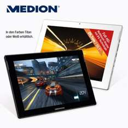 "Lokal Aldi Nord ab 30.04.2015 und ab 07.05.2015 Aldi Süd 10,1"" MEDION® LIFETAB® S10346 (MD 98992) Tablet-PC  32 GB ROM/ 2 GB RAM mit Android™ 4.4"