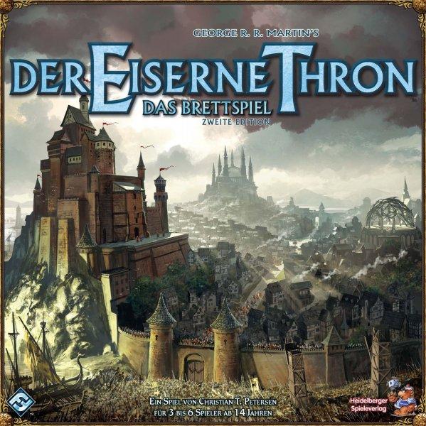 """[SMDV] Heidelberger """"Der eiserne Thron"""" 2nd Edition Brettspiel für 27€"""
