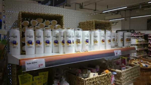 Pantene Shampoo u.  Spülung im Globus Erfurt nur 1€