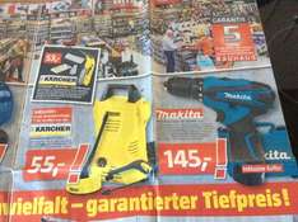 Kärcher K 2 Basic + T-50 @ Bauhaus Bremen