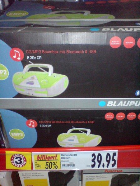 Offline im Kaufland: Blaupunkt B30e CD-Radio MP3, Bluetooth und USB