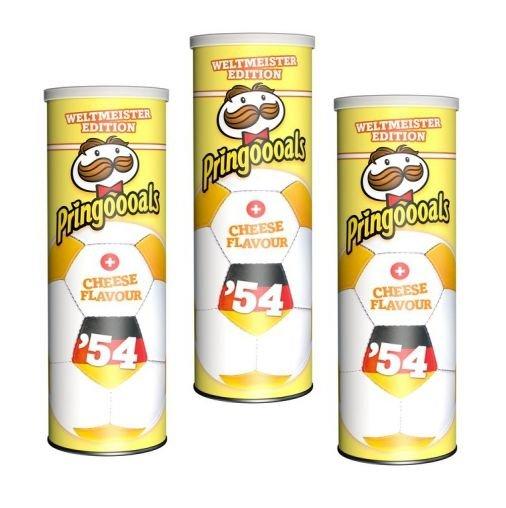 [THOMAS PHILIPPS]KW18: Pringles Weltmeister Edition - Cheese Flavor 190g für nur 0,99€ (Pringoooals)