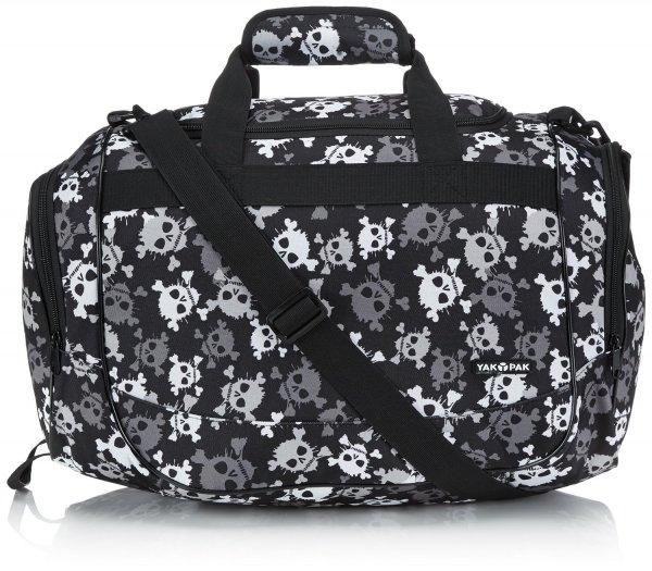 (Amazon.de-Prime) Yak Pak Tasche Duffle Farbe Grey Skull Splatter