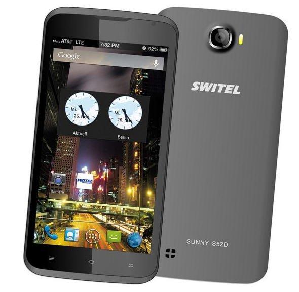 Switel S52D Sunny 12,7 cm (5 Zoll) Smartphone (Dual SIM) bei Plus (versandkostenfrei)