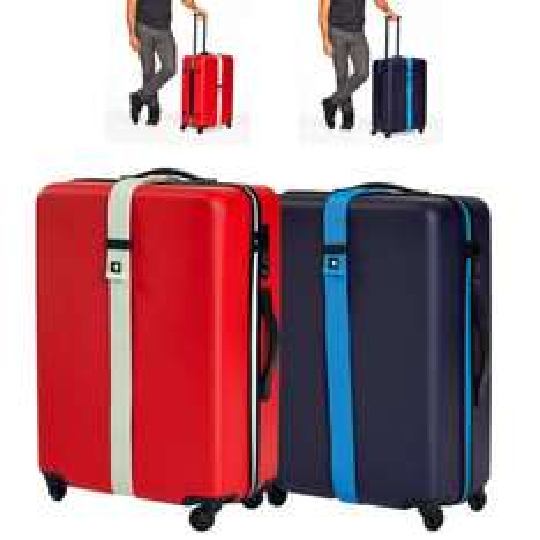 [3% Qipu] Hartschalen Rollkoffer Voyage in blau und rot (Volumen 60l / 15KG Belastbarkeit) 360 Grad rotierbar und TSA - Schloss für jeweils 29,50€ frei Haus @Dealclub