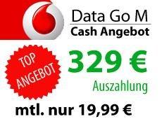 Vodafone DataGo M für Alle 3GB LTE für 6,28 €/Monat durch 329 € Auszahlung von Handyschotte