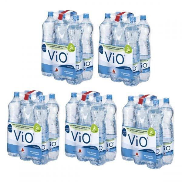 [37581 RAMBA ZAMBA] KW18: Apollinaris Vio stilles Mineralwasser 5x6x1,5l (30 Flaschen) für 0,166€/Flasche [MHD 07/15]