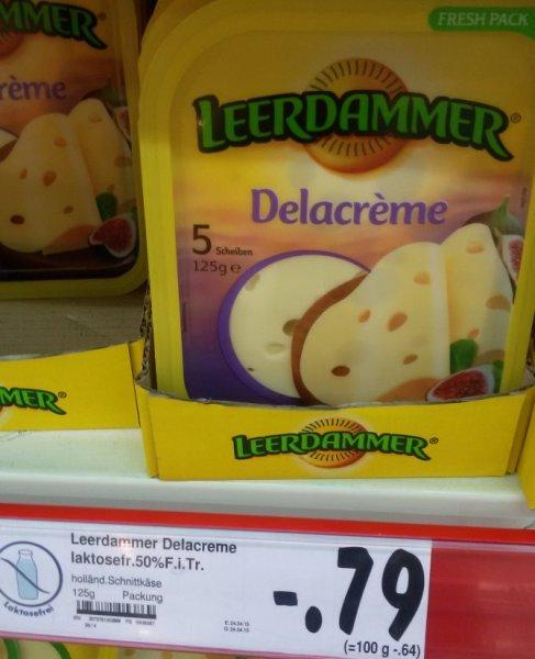 Leerdammer Delacreme 125 g statt 1,99 € für 0,79 € im Kaufland Berlin-Weißensee Romain-Rolland-Str.13