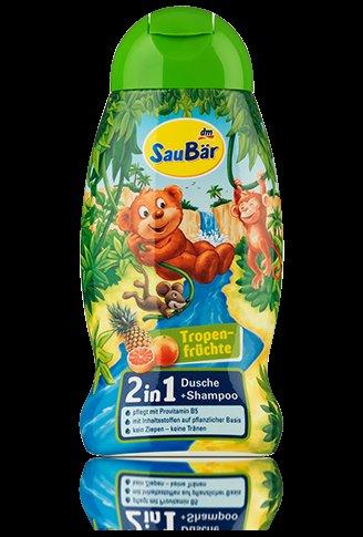 [dm-drogerie markt] Gratis SauBär 2in1 oder 3in1 Dusche+Shampoo (250ml)
