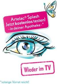 [Bundesweit] Artelac® Splash Augentropfen kostenlos testen in deiner Apotheke