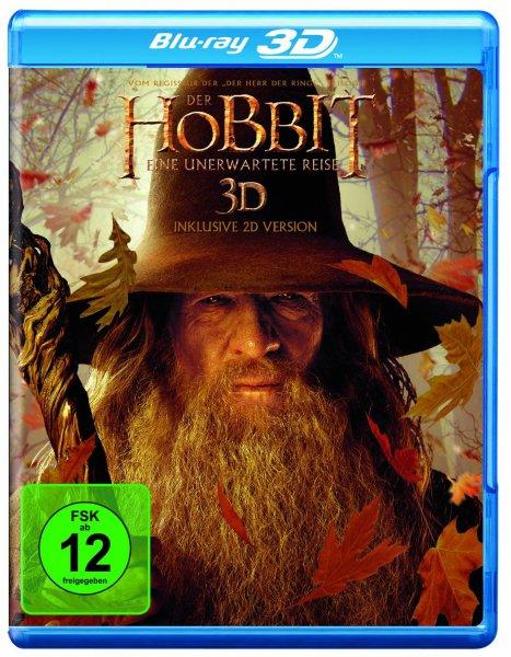 Der Hobbit Eine unerwartete Reise 3D für 9€ mit Prime, sonst + max. 3€ Versandkosten